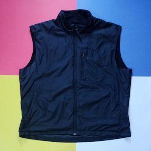 Modern Marmot Black Essential Embroidered Vest